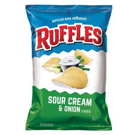 Ruffles Sour Cream Onion
